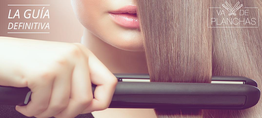 Planchas de pelo para cabello rizado